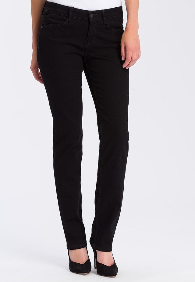 ROSE - Straight leg jeans - black