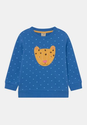 SAMMY LEOPARD POLKA DOT - Sweater - colbalt dash