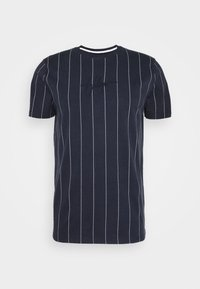 Hollister Co. - SCRIPT LOGO  - Camiseta estampada - navy stripe - 4