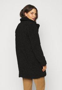 Noisy May Petite - NMGABI JACKET - Classic coat - black - 2