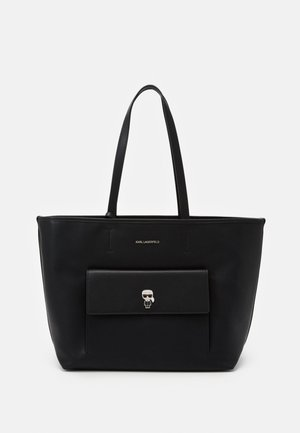 IKONIK PIN TOTE SET - Handbag - black