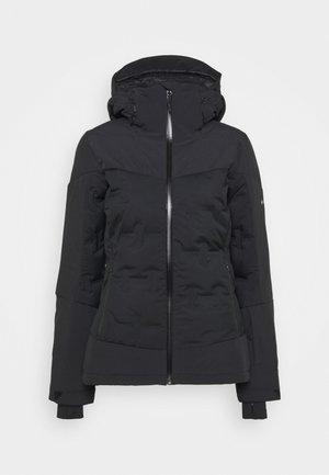 WILD CARDDOWN - Ski jacket - black