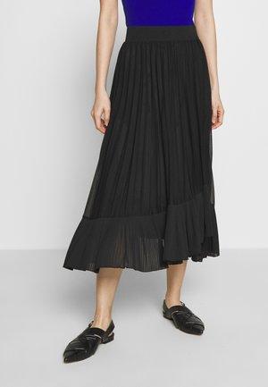 PAGABILE - A-line skirt - black