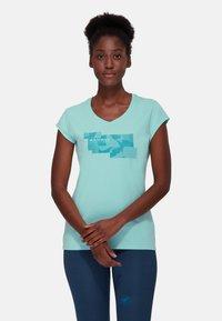 Mammut - TROVAT - Print T-shirt - dark frosty - 0