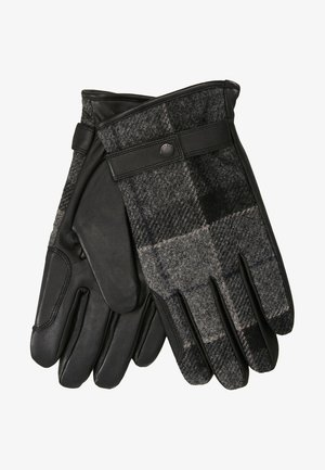 NEWBROUGH TARTAN GLOVE - Gloves - black