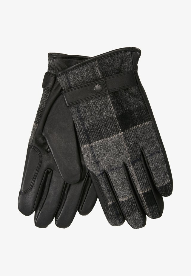 NEWBROUGH TARTAN GLOVE - Fingerhandschuh - black