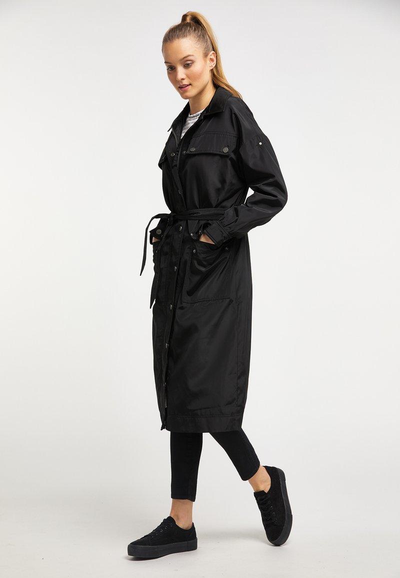 DreiMaster - Płaszcz wełniany /Płaszcz klasyczny - black