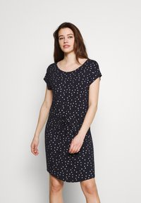 ONLY - ONLMILLIE BELT DRESS - Jersey dress - night sky/silver - 0