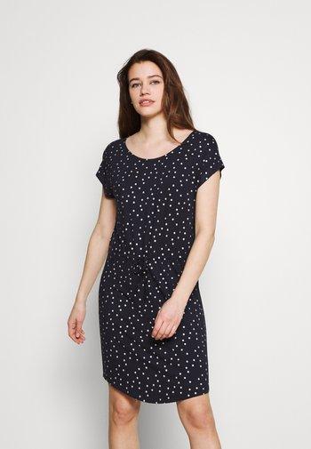 ONLMILLIE BELT DRESS - Jersey dress - night sky/silver