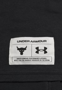 Under Armour - ROCK WRECKING CREW - T-shirt imprimé - black - 5