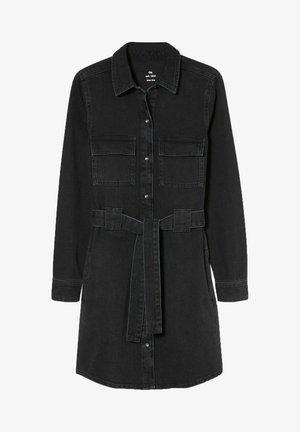 Denim dress - denim-dark gray