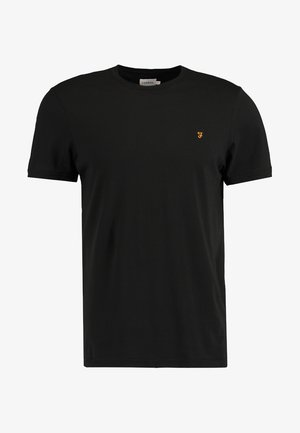 DENNY SLIM FIT - T-shirt basic - black