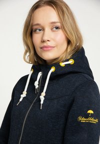 Schmuddelwedda - Fleece jacket - marine melange - 3