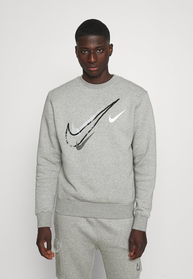 Nike Sportswear - SOS CREW - Sweatshirt - grey heather