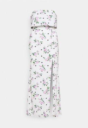 AMBER - Festklänning - off white/lilac