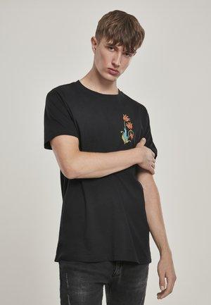 LOVE & RESPECT  - T-shirt imprimé - black