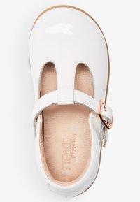 Next - Ankle strap ballet pumps - off-white - 1