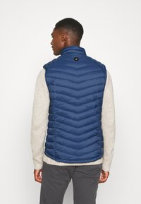 TOM TAILOR - Waistcoat - dark denim blue - 2