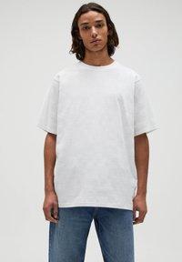 PULL&BEAR - T-shirt - bas - white - 0