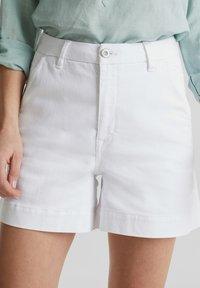 Esprit - Denim shorts - white - 5
