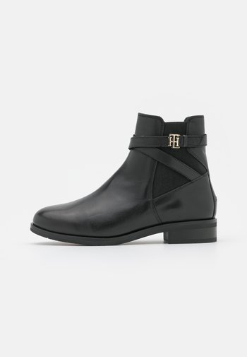 HARDWARE ON BELT BOOT - Classic ankle boots - black