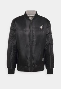 REVERSIBLE UNSIEX - Bomber Jacket - black