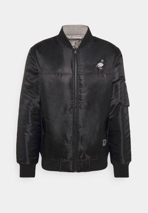 REVERSIBLE UNSIEX - Bomber Jacket - black