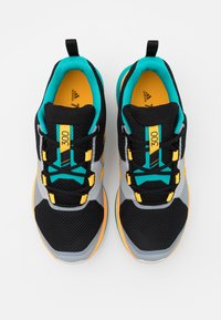 adidas Performance - TERREX TWO LIGHTSTRIKE RUNNING SHOES - Obuwie do biegania Szlak - hi-res aqua/core black/solar gold - 3