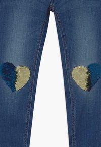 Lindex - MINI TINA - Slim fit jeans - dark denim - 2