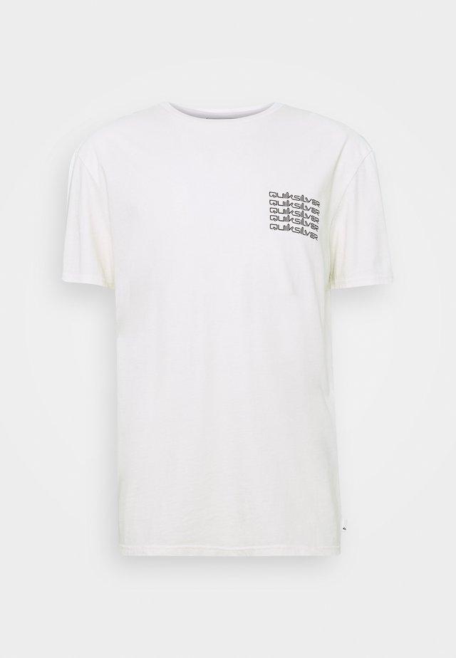 BETA TEST  - T-shirt con stampa - snow white