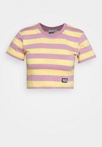 The Ragged Priest - REFRESH TEE - Print T-shirt - yellow/lilac - 3