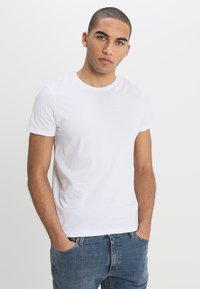 Wrangler - TEE 2 PACK - Basic T-shirt - navy - 2
