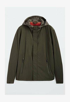KOMBINIERTE FUNKTIONSSTO - Winter jacket - khaki