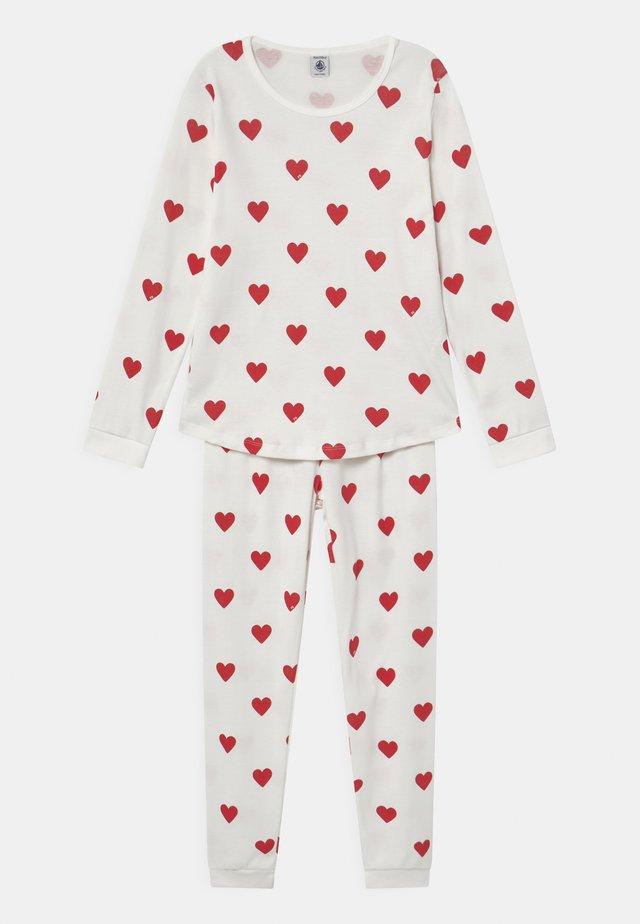 HEART - Pyjama - marshmallow/terkuit