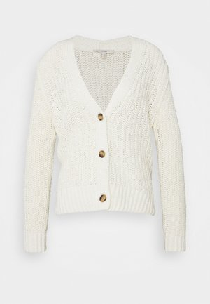 TAPE CARDIGAN - Kardigan - off white