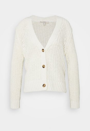 TAPE CARDIGAN - Cardigan - off white