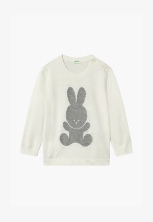 UNISEX - Jumper - white