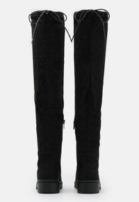 New Look - CALCUTTA STRETCH CHUNKY - Over-the-knee boots - black - 3