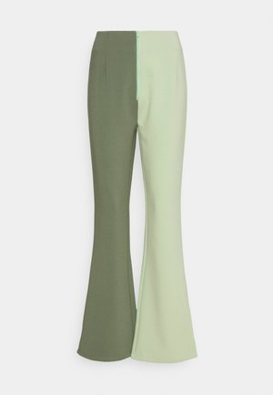 VEDA PANTS - Trousers - khaki/olive