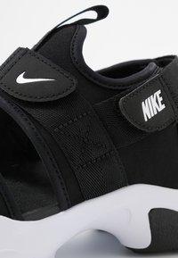 Nike Sportswear - CANYON  - Outdoorsandalen - black/white - 2