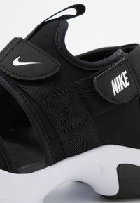Nike Sportswear - CANYON SLIDE - Sandalias - black/white - 8