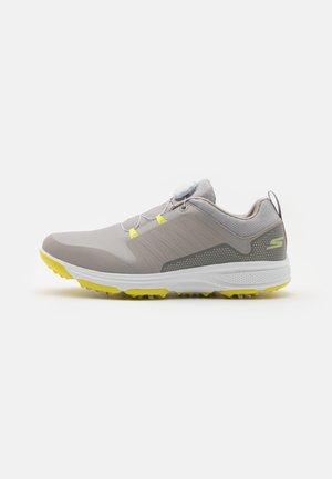 TORQUE TWIST - Golf shoes - grey/lime