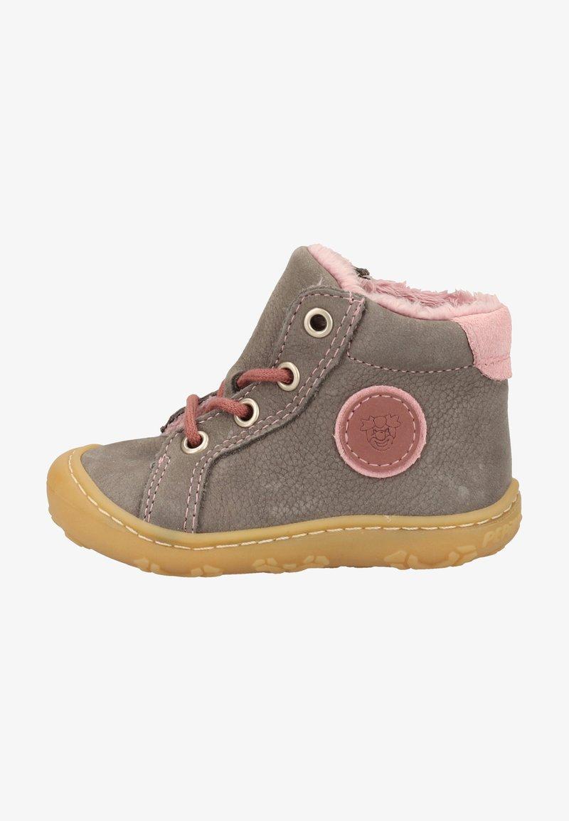Pepino - Baby shoes - graphit/blush 452
