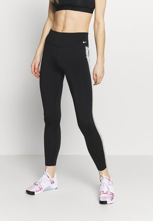 ONE - Legginsy - black/particle grey/white