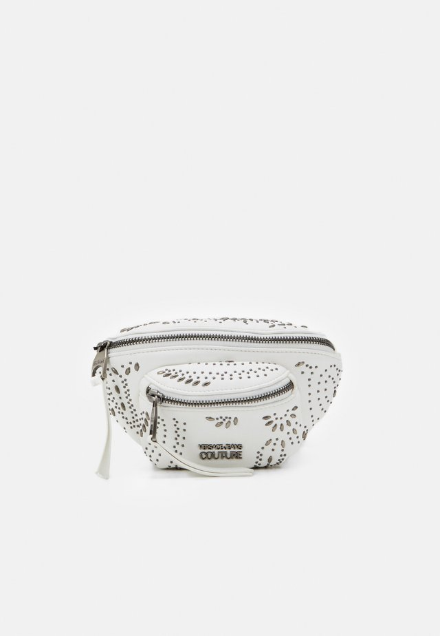 BELT BAG MINI POCKETSPAISLEY STUDS - Vyölaukku - bianco ottico