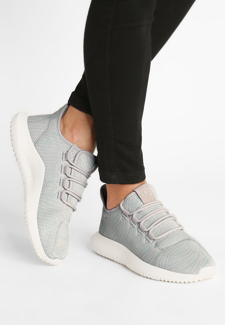 adidas Originals - TUBULAR SHADOW - Trainers - cbrown/ashgrn/owhite