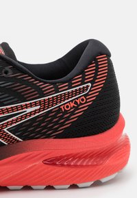 ASICS - GEL-CUMULUS 22  - Neutral running shoes - black/sunrise red - 5