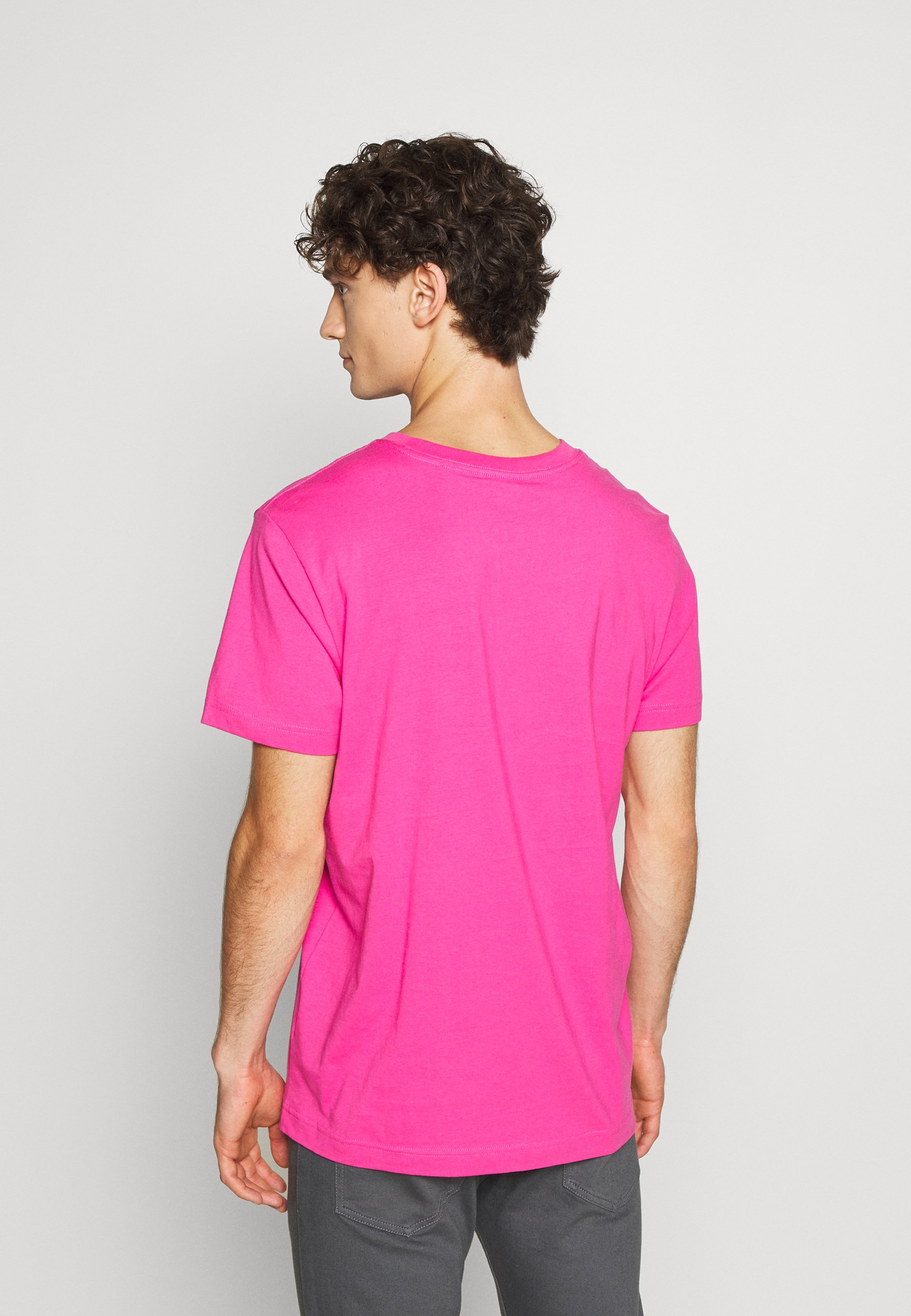 Weekday RELAXED  - Basic T-shirt - pink pCPY1