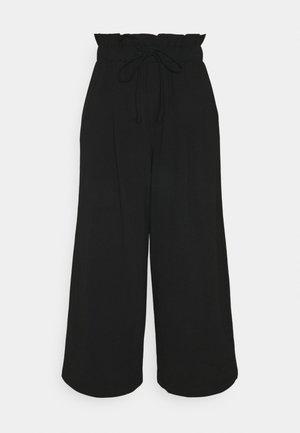 ONLKIRAS LIFE CULOTTE PANTS - Trousers - black