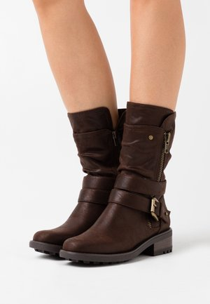 Cowboy-/Bikerboot - brown